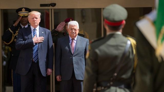 מתיחות ביחסי הרשות הפלסטינית עם ממשל טראמפ