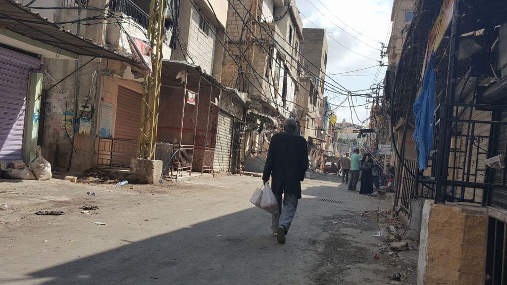 על מה הקרבות במחנה הפליטים