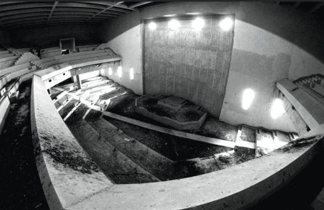 בניין הפרלמנט הפלסטיני באבו דיס // צילום: [12:16, 18/1/2018] +972 58-736-4477: Decolonizing Architecture Art Residency orgDecolonizing Architecture Art Residency org
