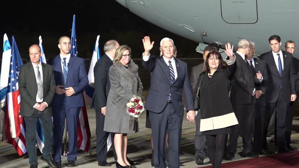 ביקור פנס: הפלסטינים עשו BDS