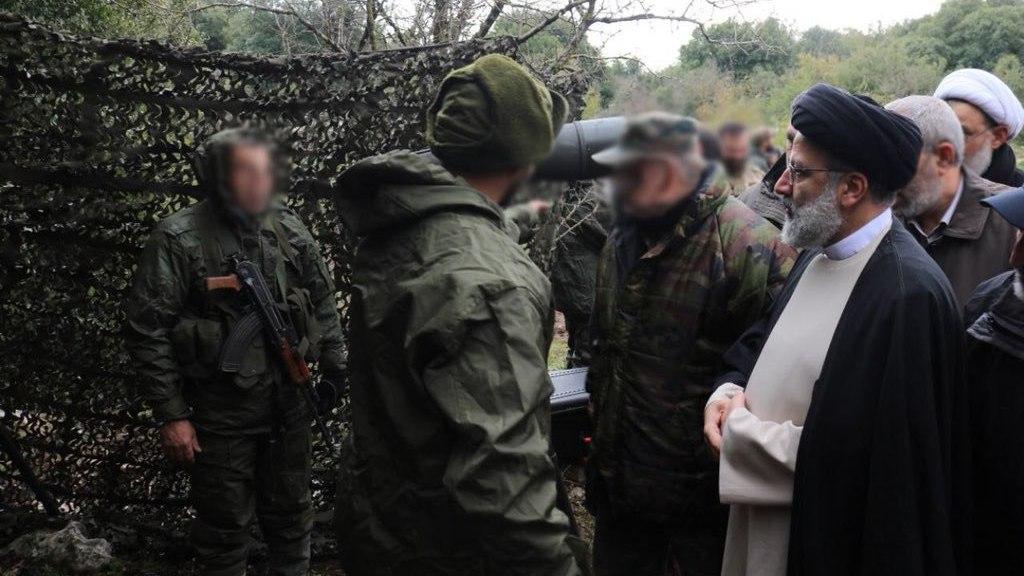 ביקור יורשו המיועד של חמינאי בדרום לבנון כמפגן תמיכה בחיזבאללה
