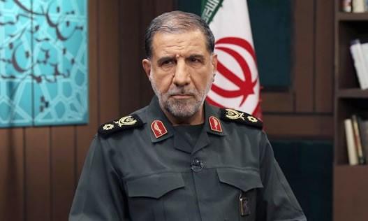 גנרל אסמאעיל קות'רי Esmaiil Kowsari סגן מפקד בסיס ת'אראללה