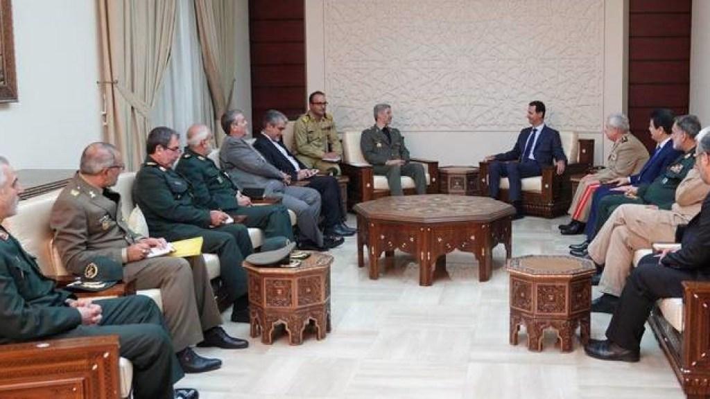 """שר ההגנה של איראן: """"נחזק את ציר ההתנגדות"""""""