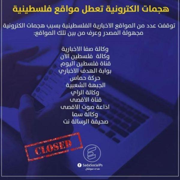 דיווח: 11 אתרים פלסטינים