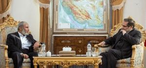 פגישת עבודה בין חמאס למנהיגי איראן
