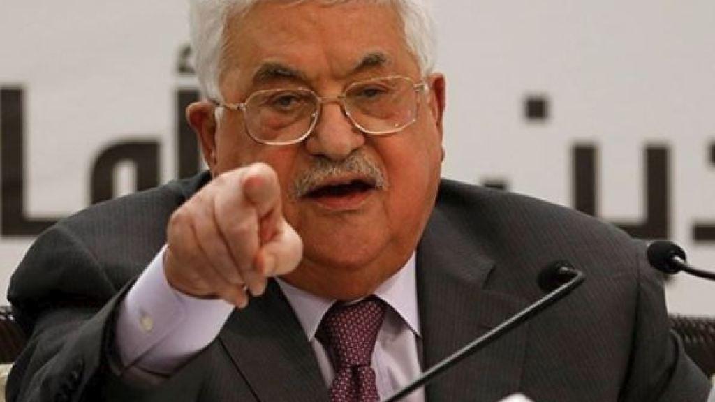 """ה""""בליץ"""" המדיני של עבאס נגד הקיזוז הישראלי"""