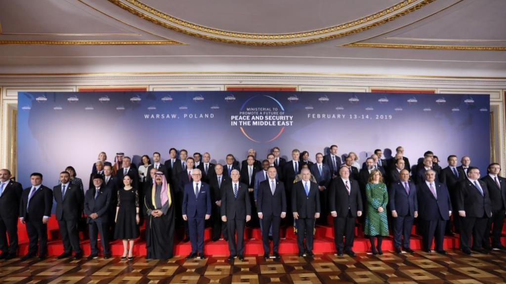 ועידת ורשה: יום עצוב לפלסטינים