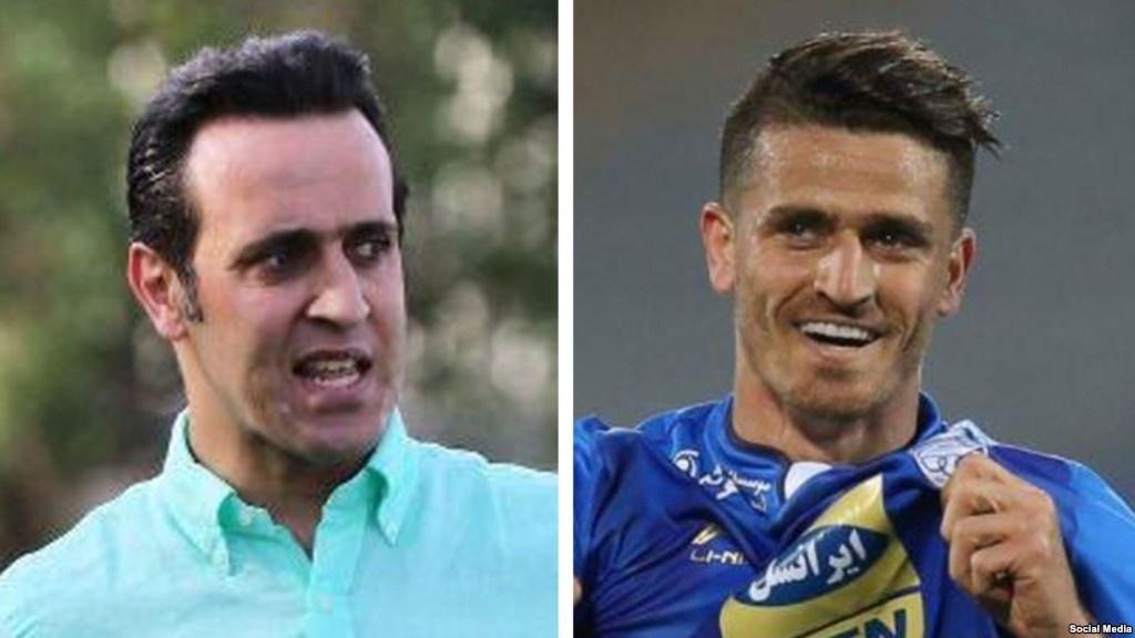 נבחרת הכדורגל של איראן נגד המנהיג