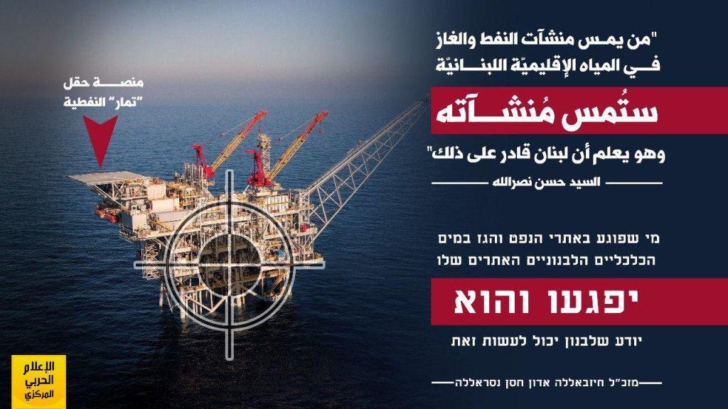 יחסי לבנון - ישראל: השפעת השיחות על קביעת הגבול הימי