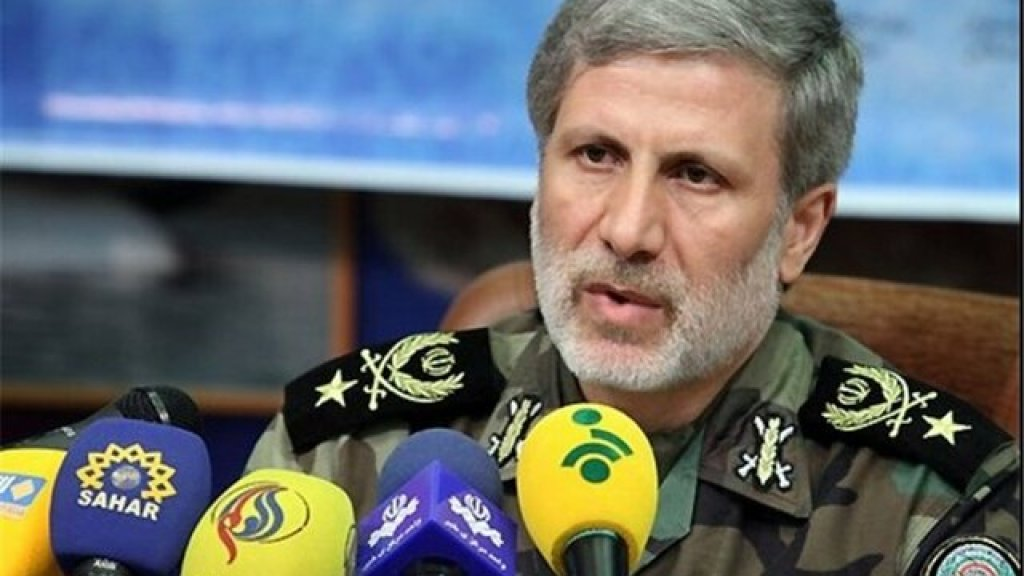 שר ההגנה האיראני:
