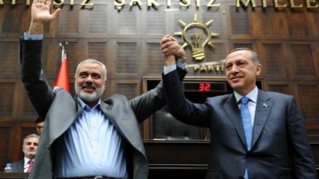 מתיחות ביחסי טורקיה עם חמאס