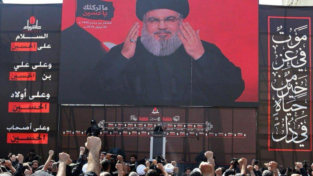 """נסראללה: """"מלחמה מול  איראן תוביל לסופה של ישראל"""""""