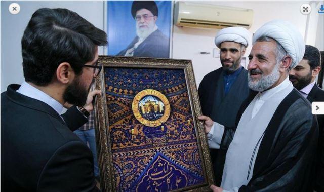 """אנשי הארגון בביקור באיראן לרגל """"יום ההתנגדות"""""""