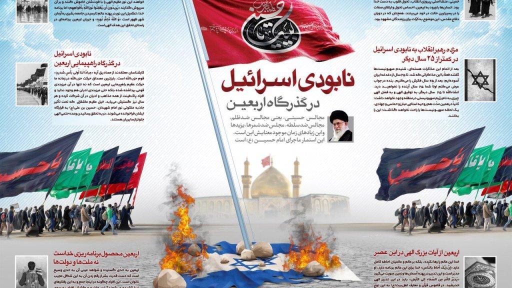 כרזות נגד ישראל בחגיגות ה