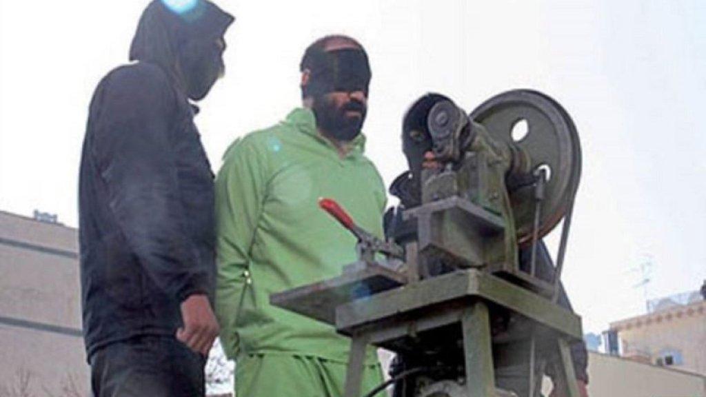 איראן: נגדעה ידו של גנב