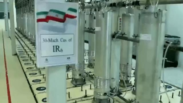 צנטריפוגות מסוג IR 6 . רוחאני הודיע היום על הצעדים החדשים של איראן