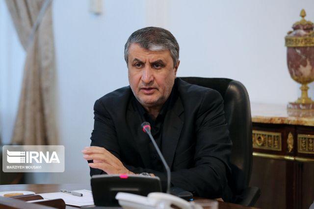 שר הדרכים והפיתוח העירוני של איראן, מוחמד אסלמי