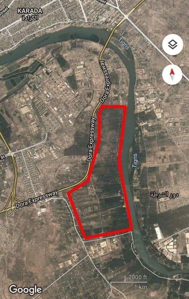 האזור בו חושדים כי מוחזקים החטופים