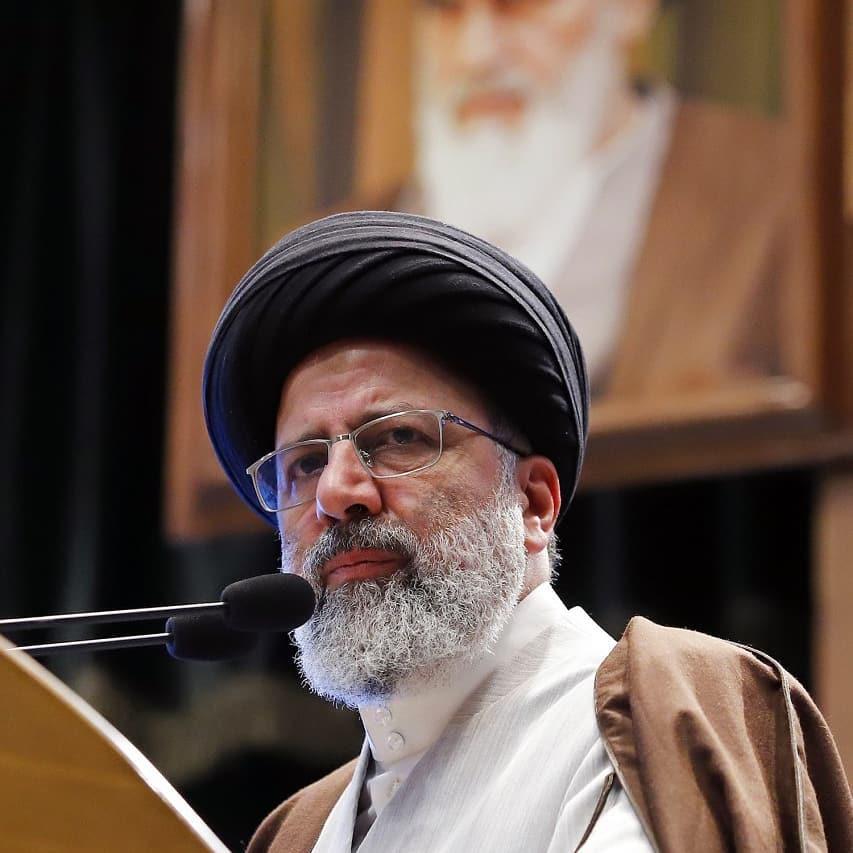 ראש השופטת של איראן, חג'טולסלאם, סייד אבראהים ראיסי,
