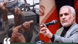 """קצין בכיר מטעם המכון הפוליטי אסטרטגי של משמרות המהפכה, חאסן עבאסי, אמר בנאום מצולם ב-23.1.20 כי על איראן לחטוף בני ערובה ולדרוש עבורם כופר בעקבות הסנקציות המוטלות על ידי ארה""""ב, אותם כינה """"כסף דמים""""."""