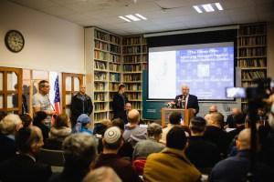 """שגריר ארה""""ב בישראל , דיווד פרידמן במרכז הרושלמי לענייני ציבור ומדינה // צילום: ראובן בן חיים, המרכז הירושלמי לענייני ציבור ומדינה"""