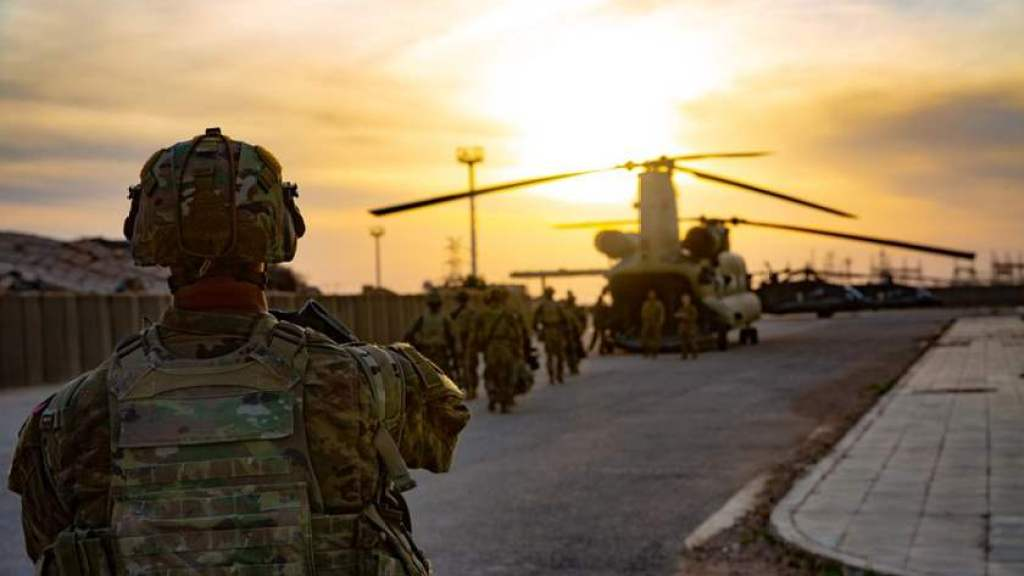 """ארה""""ב נסוגה מאזור גבול עיראק-סוריה"""
