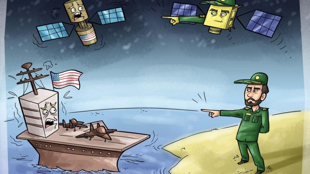 """המתיחות במפרץ: מפקד משה""""מ קורא לפגוע בספינות ויחידות אמריקניות"""