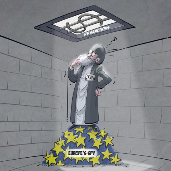 אירופה, הקורונה ואיראן