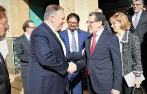 מזכיר המדינה פומאפו במרוקו - הניסיונות להגיע להסכם