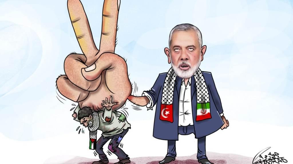 """""""חמאס סוחר בדם הפלסטיני"""""""