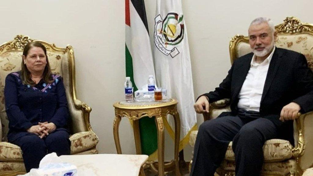 חמאס דורש את שחרור ברגותי וסעאדאת