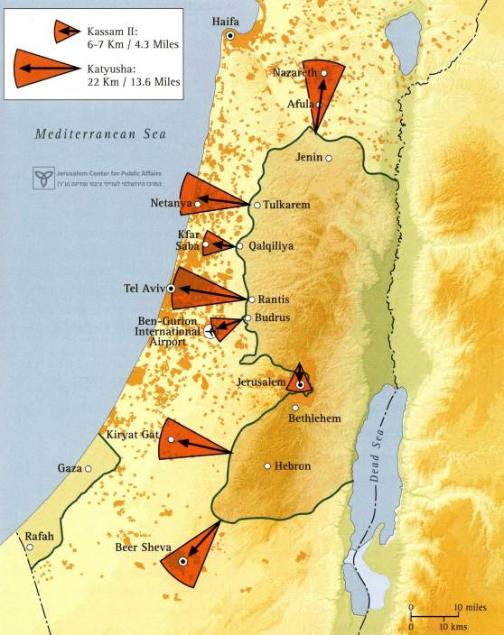 "Gaza ""Hamastan"" in the West Bank: Threats to Israeli Population Centers"