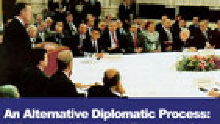 An Alternative Diplomatic Process: A Renewed RegionalFramework for Cooperation in the Middle East