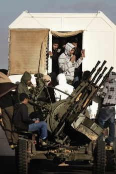 Rebels in Libya