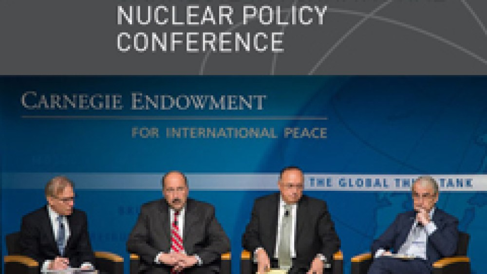 Arab Spring and Middle East WMDFZ at the 2013 Carnegie International Nuclear Policy Conference