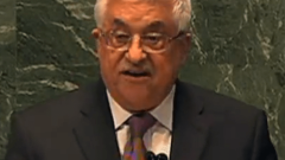 Mahmoud Abbas' Latest ICC Bluff