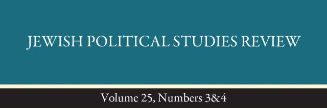 Jewish Political Studies Review