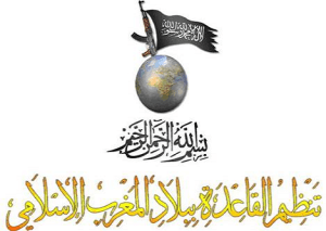 Logo for Al-Qaeda in the Islamic Maghreb (AQMI) in Algeria