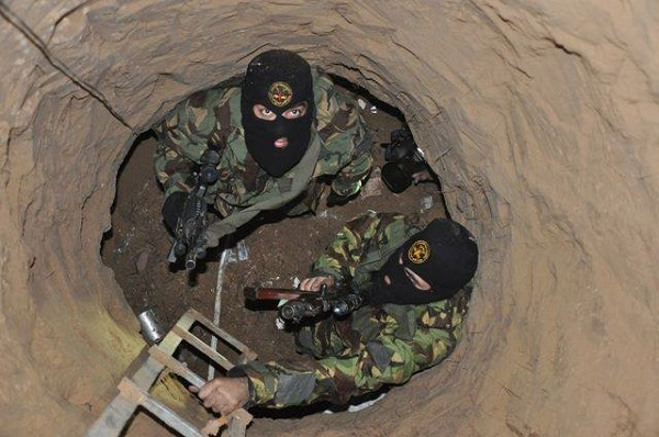 Hamas spent many years digging a vast network of tunnels that opened inside Israel.
