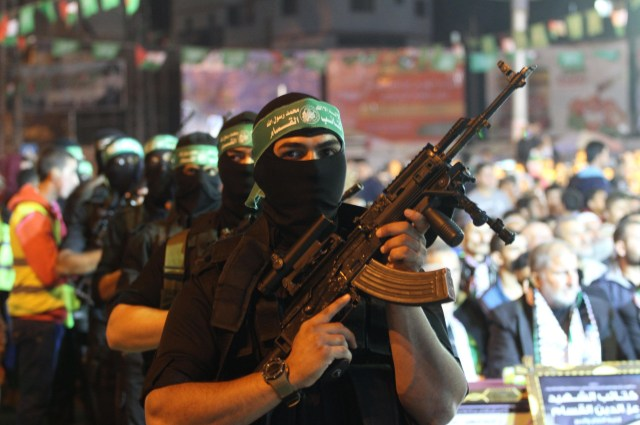 Hamas is preparing for its next war with Israel. (AP/Mohammed Asad)