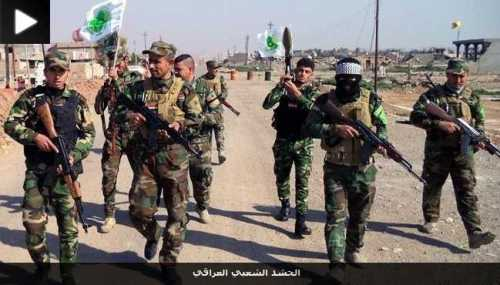 """Fighters of the Shiite """"Iraqi National Mobilization"""""""