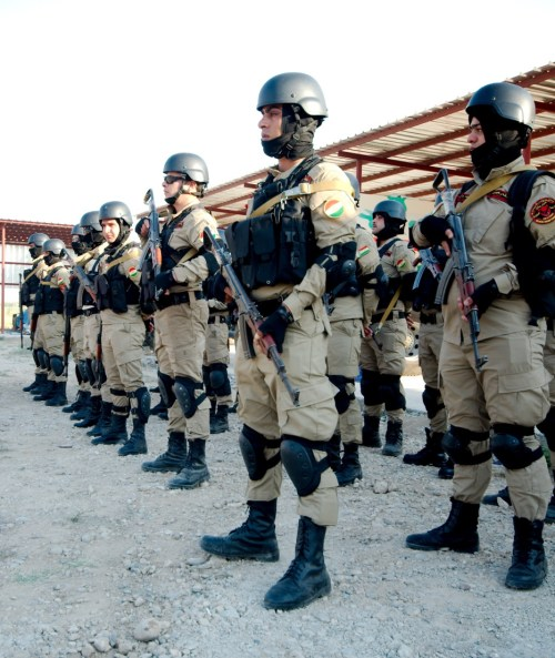 Peshmerga fighters, northern Iraq (Enno Lenze, Flickr)