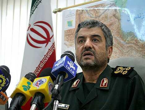 """Revolutionary Guard Commander Mohammad Ali Jafari: """"Erase the Zionist regime"""""""