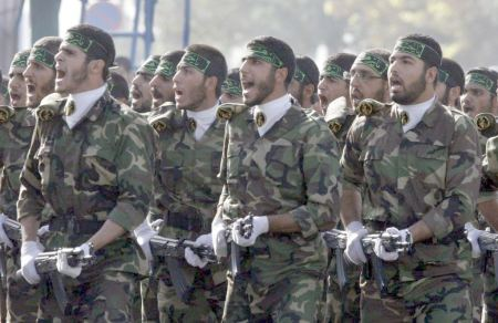 "Iranian Basij ""volunteer"" fighters"