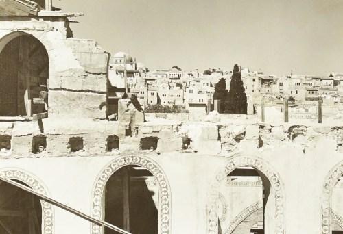 Al Aqsa after the earthquake