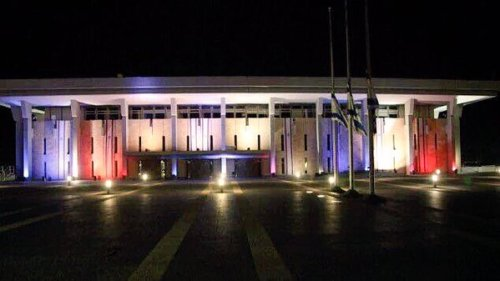Israel's Knesset lit in France's tricolors in solidarity