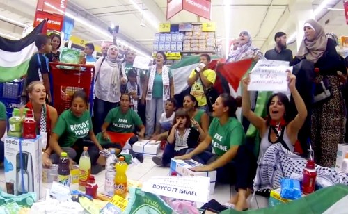 BDS activists in France