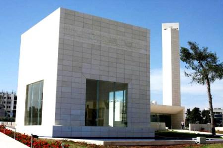 Yasser Arafat's mausoleum in Ramallah