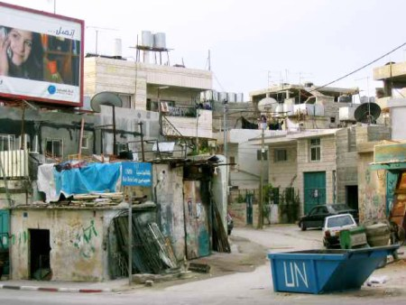 Beit Jibrin refugee camp in Bethlehem