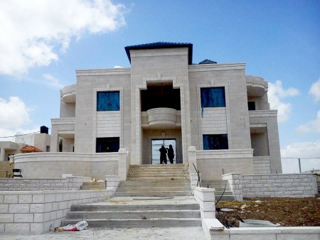 Marwan Jomaa's villa in Nablus